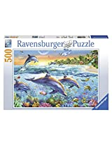 Dolphin Cove 500 Piece Puzzle