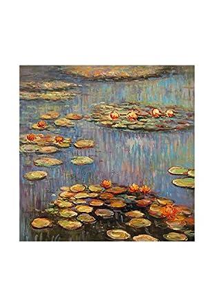 Arte dal Mondo  Wandbild Monet Ninfee