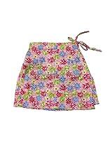 Romano Girl's Multi-Coloured Skirt