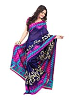 Vibes Cotton Patch Work Saree (S33-6005A _Multi-Coloured)