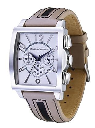 Adolfo Dominguez Watches 66001 - Reloj de Caballero cuarzo correa de piel Beige