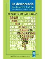 La democracia en America Latina/ Democracy in Latin America