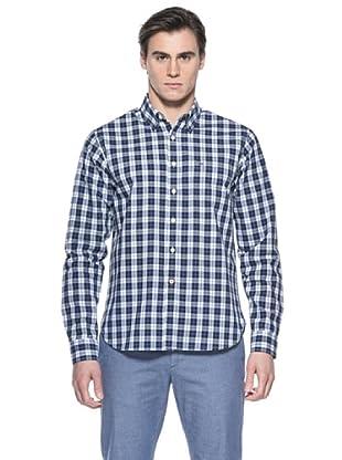 Mistral Camisa John (Azul / Blanco)