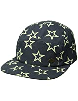 San Diego Hat Co. Men's Star Cap with Adjustable Back