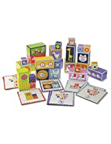 FisherPrice Wood My First Activity Block Set