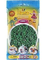 Bulk Buy:Hama Dark Green 207 10 Color Midi Beads 1,000 Count (3 Pack)