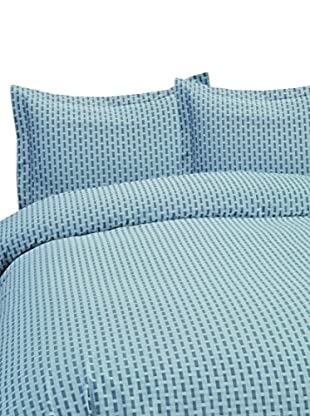 Mélange Home Yarn Dyed Basket Weave Duvet Set