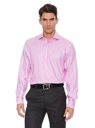 Hackett Camisa Estampada (Fucsia)