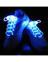 1 Pair Fancy LED NEON Shoe Lace Lights Flashing Shoelace Fits all Shoes Pair Party Shoe Lace With Led Glowing Lights for Shoes Dance Party
