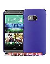 KAYSCASE HTC One M8 Mini Slim Hard Shell Cover Case - Indigo