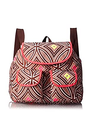 LeSportsac Women's Convertible Backpack (Miti Fluorescent)