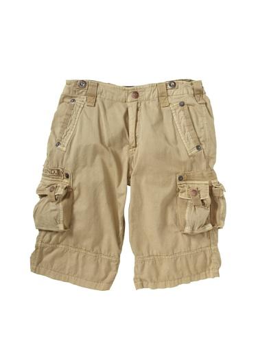 Alpha Industries Boy's Austin Cargo Shorts (Sand)