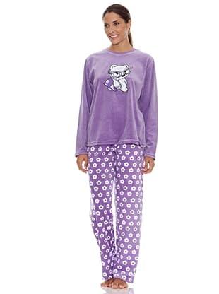 Blue Dreams Pijama Señora Tundosado (morado)