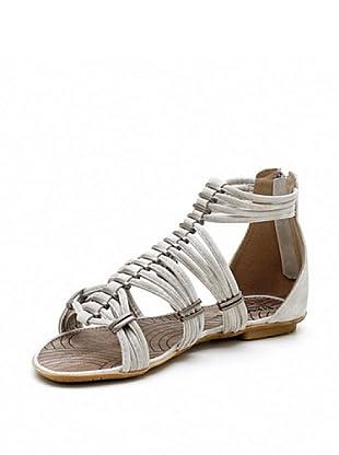 Trendy Too Sandalias Tiras (Crudo)