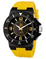 Joshua & Sons Men's JS-38-YL Watch