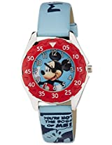 Disney Mickey Mouse Analogue Watch - Light Blue (AW100225)