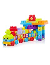 Fisher Price First Builders 1-2-3 Learning Train, Multi Color