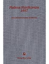 Malleus Maleficarum (1487) (Hexenhammer): Nachdruck DES Erstdruckes Mit Bulle Und Approbatio (Rechtsgeschichte, Zivilationsprozess, Psychohistorie - Quellen und Studien)