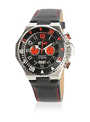 Carbon Reloj de cuarzo Unisex 42 mm