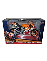 2014 Repsol Honda #93 RC2 13V Marc Marquez Motorcycle Model 1/10 by Maisto 31406 MA by Maisto