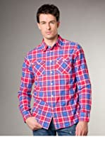 Jachs Camisa  Regular Fit (Azul / Rojo / Amarillo)