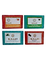 Khadi Soaps 500 Grams (Pack of 4) (R0SHMIH0)