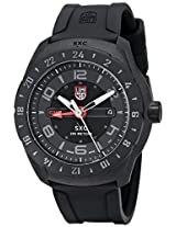 Luminox Men's 5021.GN SXC PC Carbon GMT Analog Display Analog Quartz Black Watch