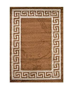 Chic Orange Teppich Verso karamell 120x170 cm