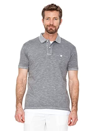 Cortefiel Polo Basic + T-Shirt (Stein)
