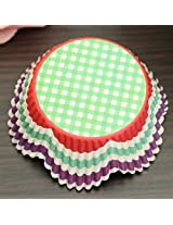 Baking Cupcake Liner Muffin Candy Nut Snack Greaseproof Dessert Baking Cake Cup(Pattern:03)