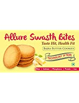 Allure Swasth Bites Bajra Cookies Butter (Pack Of 2)