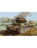 """Dragon Models Flakpanzer IV Ausf. G """"Wirbelwind"""" Early Production Model Building Kit with Zimmerit, Scale 1/35"""