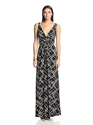 TART Women's Adriana Maxi Dress (Black/White)