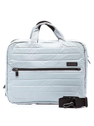 Dockers Bags Maletín Laptop Asimétrica (Gris)