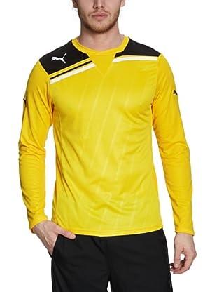 Puma Longsleeve King (team yellow-black)