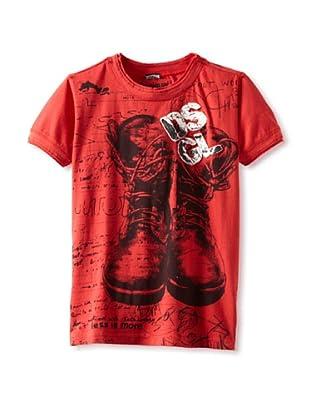 Desigual Boy's Pan De Molde T-Shirt (Red)