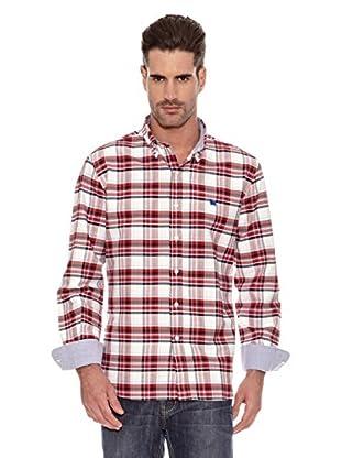 Toro Camisa Cuadros Medium (Rojo / Arena)