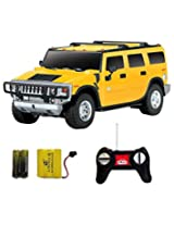 Saffire Remote Controlled Rechargeable Hummer (Yellow)