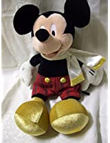 "15"" Dressed Disney Mickey Mouse Plush"