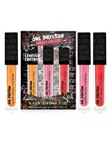 Make Up by One Direction Liquilights Glow UV Reactive Color Changing Lip Gloss Trio, Multi, 3 Count