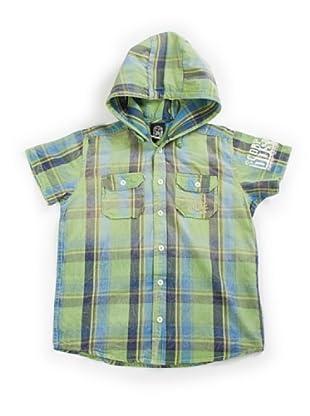 Scorpion Bay Camisa Cuadros (Verde/Azul)