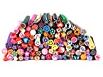 Bundle Monster 100 Pc 3D Designs Nail Art Nailart Manicure Fimo Canes Sticks
