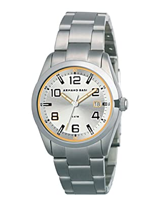 ARMAND BASI A0611G04 - Reloj de Caballero movimiento de cuarzo con brazalete metálico Acero