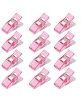 Imported 50Pcs Wonder Clips Quilters clips Sewing Clip Quilting Supplies Pink