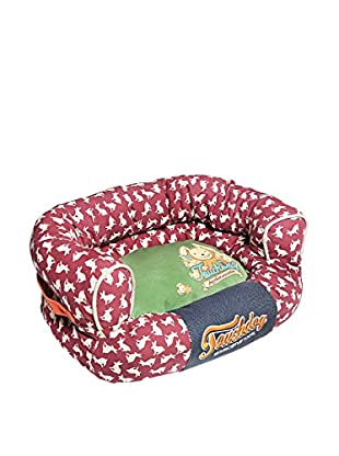 Touchdog Rabbit-Spotted Easy Wash Couch Dog Bed