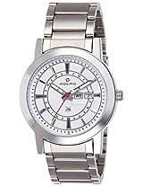 Maxima Attivo Analog White Dial Men's Watch - 24900CMGI