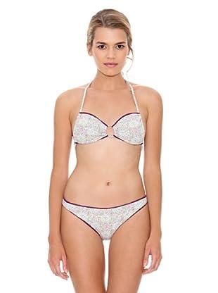 Monoplaza Bikini Santorini (Morado)