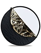 Westcott 306  20-Inch 5-In-1 Reflector (Black)