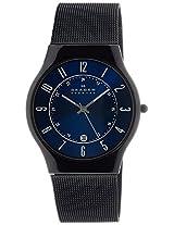 Skagen Classic Analog Blue Dial Men's Watch - T233XLTMNI