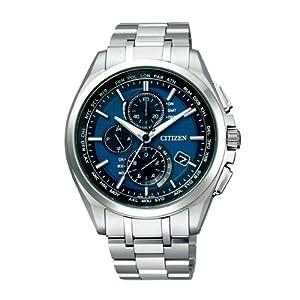 【クリックで詳細表示】[シチズン]CITIZEN 腕時計 ATTESA アテッサ Eco-Drive エコ・ドライブ 電波時計 ダイレクトフライト 針表示式 薄型 AT8040-57L メンズ: 腕時計通販